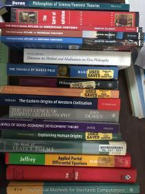 17本外文书笛卡尔、杜威、叶慈等,不包含马可波罗游记