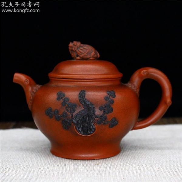 名家紫砂壶宜兴紫砂壶原矿朱泥纯手工茶壶功夫茶具