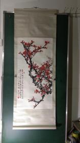 著名画家任率英先生的弟子,现任北京中国三峡画院秘书处副秘书长、中国画创作部主任。韩宝明国画,保真