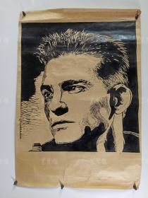 佚名 人物肖像版画作品一幅 HXTX168180