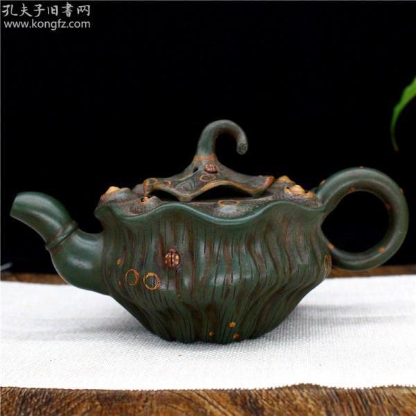 宜兴紫砂壶家用泡茶壶名家蒋蓉纯手工原矿茶具莲子壶