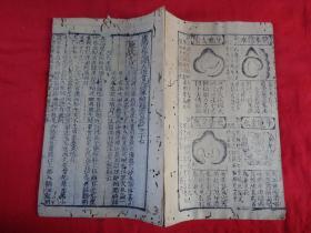 地理明刻本《天机会元》明,1册(卷27)大开本,品如图。