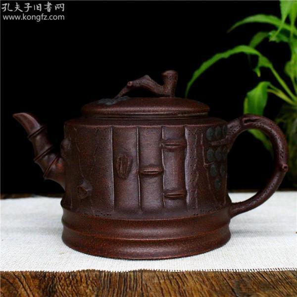 宜兴紫砂壶名家原矿梅桩壶家用泡茶壶大容量
