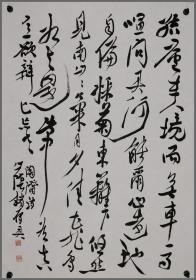 浙江省书法家协会副主席兼秘书长【赵雁君】书法