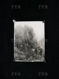 """七十年代 """"解放军垦荒""""老照片一幅(尺寸:22*17cm) HXTX313623"""