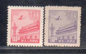(L80)華北天安門圖