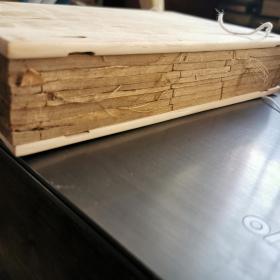 清嘉庆刻版画书--《朱子家礼》8卷附《四礼初稿》4卷《四礼约言》4卷一夹板 八册全,除皮有损外,内页如新,见图