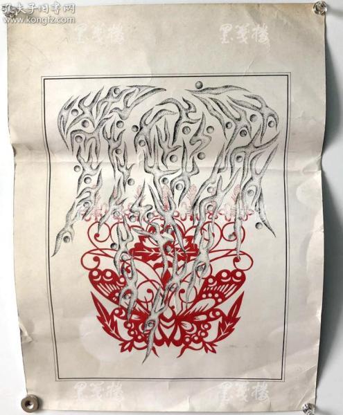 同一来源:著名画家、曾任世界艺术家协会副会长 钱坤2002年画作《民间美术》 一幅(尺寸41*30cm,指导老师为甫立亚)HXTX312720