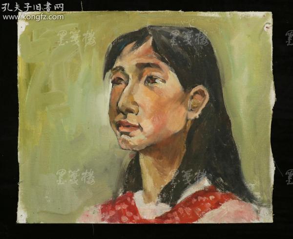 著名水彩画家、曾任哈工大教授 陈桂馥 绘画作品一幅(尺寸:25*30m;无署款)HXTX312716
