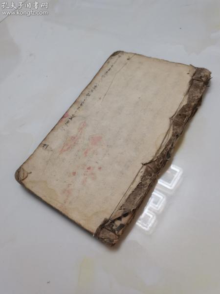 清代手写中医古书〈神咒针炙》大开本一厚册全。