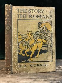 【1924年英文古董书】《罗马故事》海量插画