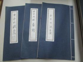 现代医学手稿线装本3册--张 潇 月《黄帝内经素问:1-18、28-32篇》 16开96页