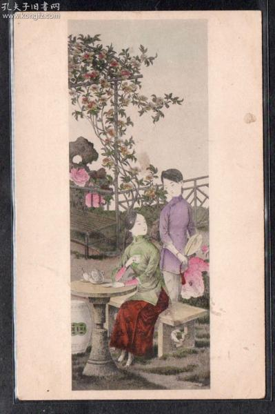 (M174)民国20-30年代美女画