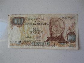 早期阿根廷1000元3