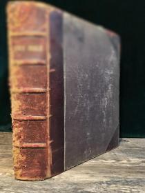 【1797年英文超大开本古董书·25X30CM】20页整版版画,外表有些沧桑,内里完好如初