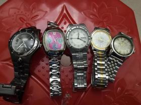 旧手表5块合拍(不能走动)