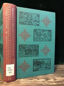 【1961年英文古董书·大32开】《斯宾塞牧人月历研究》斯宾塞处女作