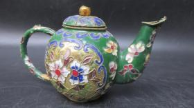 景泰蓝铜精品壶一个20051801