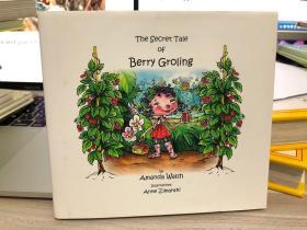 英文原版古董绘本童书 The Secret Tale of Berry Groling 精装小开本