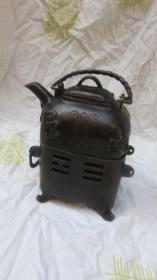 精美双层铜炉一个20060211