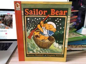 英文原版古董绘本童书 Sailor Bear