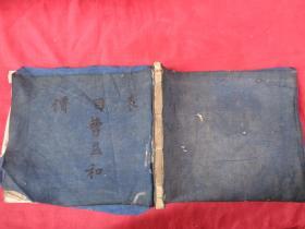 民国空白本子,1厚册,筒子页88面,长19cm24cm,品好如图。