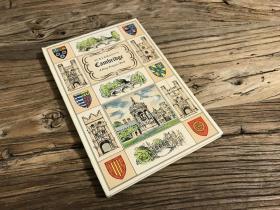【1951年英文古董书·初版初印】《剑桥画史》精美建筑风景画