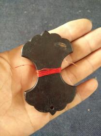 古籍修复工具,微型缠线板,绕线板,红木制一个。尺寸5×8㎝,厚0.5㎝。