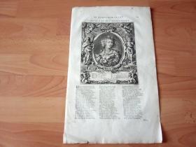 1712年铜版画《圣女则济利亚与众天使》(DIE HEILIGE CÄCILIA)-- 圣则济利亚是西方历史上第一个肉身被保存的圣人,后来被西方人尊崇的音乐的保护神;卒年大概是公元177年 -- 版画纸张尺寸42*25厘米 -- 雅各猫作品版画
