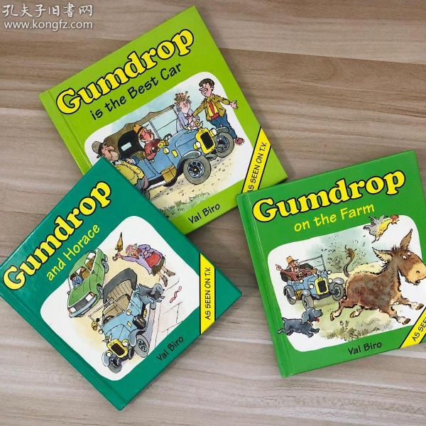 198X年 Gumdrop 三本合售 小开本 意大利印刷