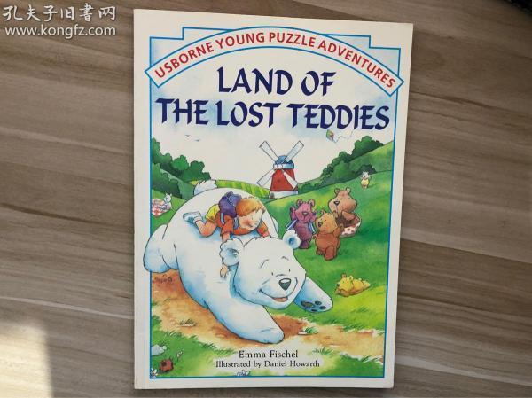 LAND OF THE LOST TEDDIES 葡萄牙印刷