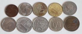 特价外国硬币10枚通走