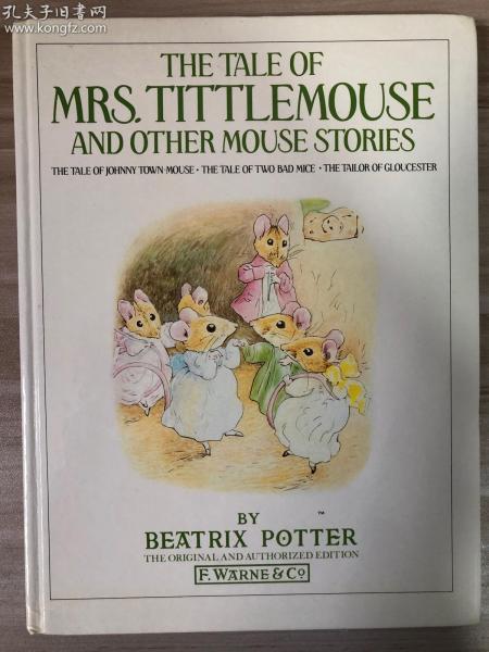 1985年 THE TALE OF MRA.TITTLEMOUSE AND OTHER MOUSE STORIES 大开本厚本 英国印刷