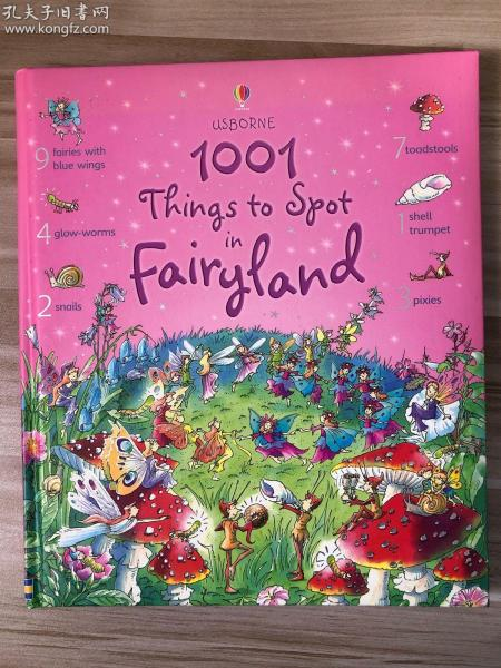 1001Things to Spot Fairyland 大开本 西班牙印刷