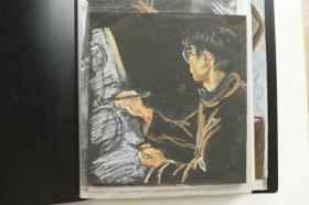 佚名作品《人物》油画等一册24件(尺寸:27.5*20cm)HXTX314739