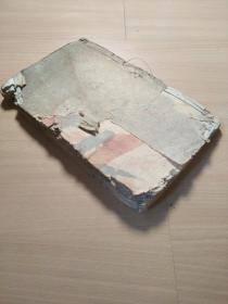 有一百多个筒子页的木刻小说善书《善书》存卷三一册前后有缺。下拍请先看图。