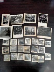 扬州漆器老照片28张合拍