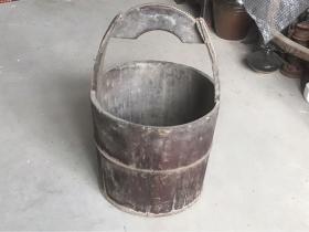 古代老木桶木水桶