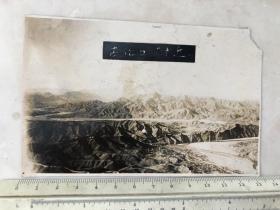 民国时期 热河古北口现北京密云古北口附近全景
