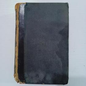 1886年  32开   精装    西班牙语  字典一册(外文版    详情看图)h062902