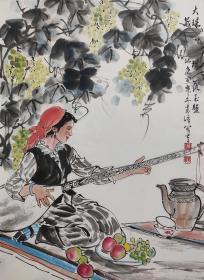 中国美术家协会理事,新疆美术家协会主席【吴奇峰】人物