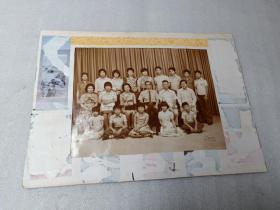 60年代闽南华侨全家福20人老照片一大张,很幸福快乐的一家人。35.5*26CM20070905