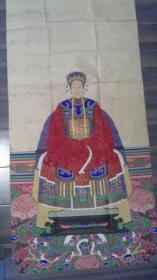 民国   手绘祖宗像