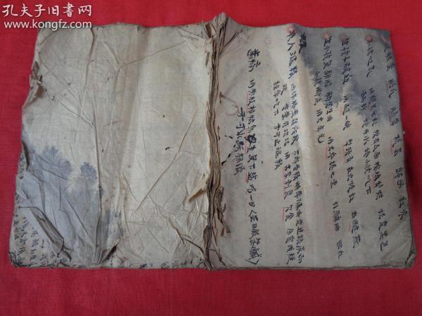 中医手稿本《杂症》民国,1册,全图,实用价值高,34面,长21cm17.5cm,品如图。