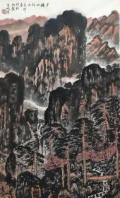 中国美术家协会会员、中央美术学院国画系副教授【崔晓东】山水