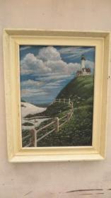 当代油画家  李卫平 2009年作油画一幅 画心尺寸52*72厘米