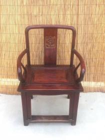 实木老椅子一只 不包邮,运费自理