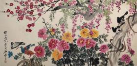 中国美术家协会主席【齐白石】花鸟