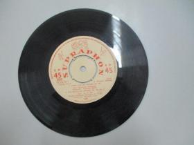 外文老唱片一张 《SUPRAPHON》 尺寸17.5/17.5厘米