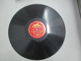 中国唱片社出版 老唱片一张 文献片 汉语拼音字母教学留声片《韵母辨音、声音的变化》 尺寸25/25厘米